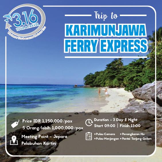Karimunjawa Ekspress 3d2n 2017 3 16 Tour Travel
